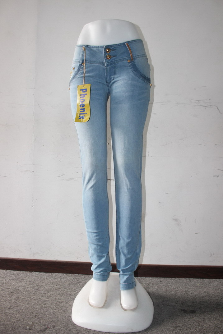 GZY Stocklot 2015 Bestseller women jeans denim jean for ladies 2015 fashion wholesale clothing tall women