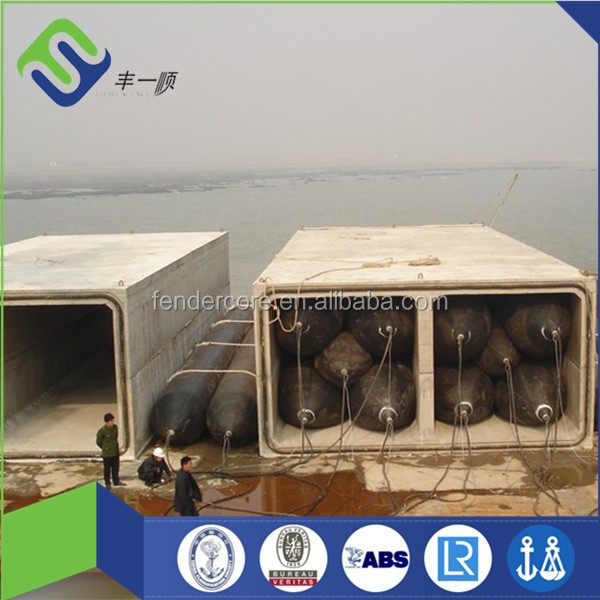 FLORESCENCE brand marine Inflatable rubber floating airbags for marine industry