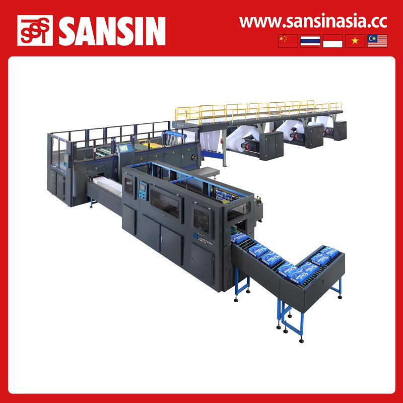 DTCP-A4 High-speed a4 paper cutting and packing machine,1400mm a4 paper sheet cutter, whole production line