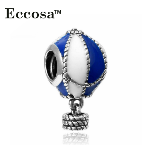 Silver Plated Large Hole Beads for bracelet making custom printed acrylic charms wholesale beads
