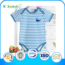 Hot sales baby clothing rompers customized bamboo romper