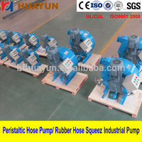 Portable Electric Mud , Concrete , Grout Slurry Transfer Pump High quality Peristaltic Hose Pump