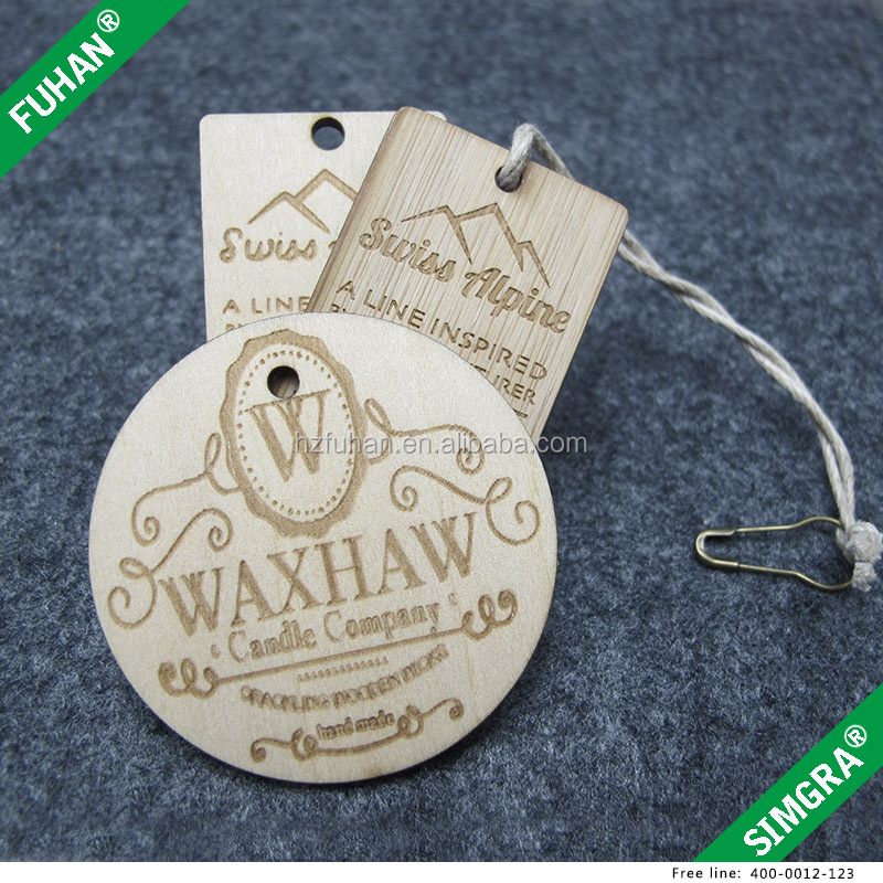 Directly Factory Popular Newest Wooden Hang Tag