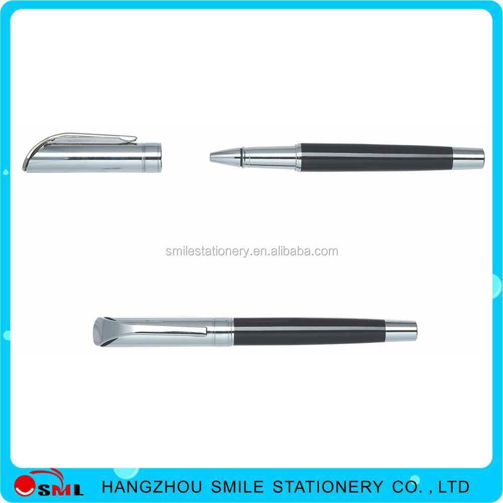 Hot selling customized promotional free ink roller pens for sale
