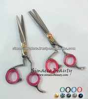 Pair of Barber Hair Cutting Scissors Thinning Shears