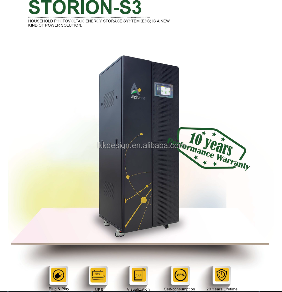 Household Photovoltaic Energy Storage System , PV Energy , Solar Power Energy Stroage