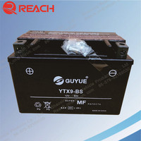 Wholesale YTX9-BS 12V 9Ah Sealed Lead Acid Motorcycle Battery