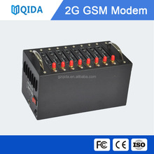 3g dual sim modem of 8 port with 8 SIM card low cost