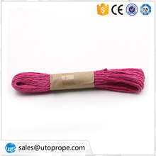 UTOP 5mm 10 m Color Braided Thin Paper Rattan Rope