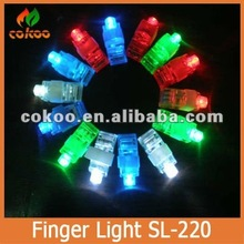2015 popular fashion christmas gift free shipping 4000pcs/lot LED Light flash laser finger mini glow beams rings torch for party