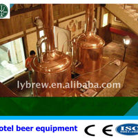 500L Microbrewery Equipment With 2 Vessel