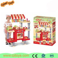 New design classic durable kitchen sets toy with all tests