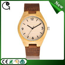 D00512z Wholesale custom 100% brand new nature bamboo design your own logo men's wooden watches