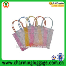 China Supplier Cheap Clear Pvc Drawstring Bag