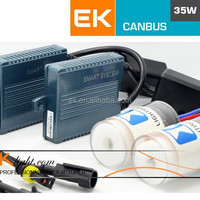 EK ASIC Canbus Smart Xenon Kit Hot Selling 12V 55 hid xenon headlights wiring harness
