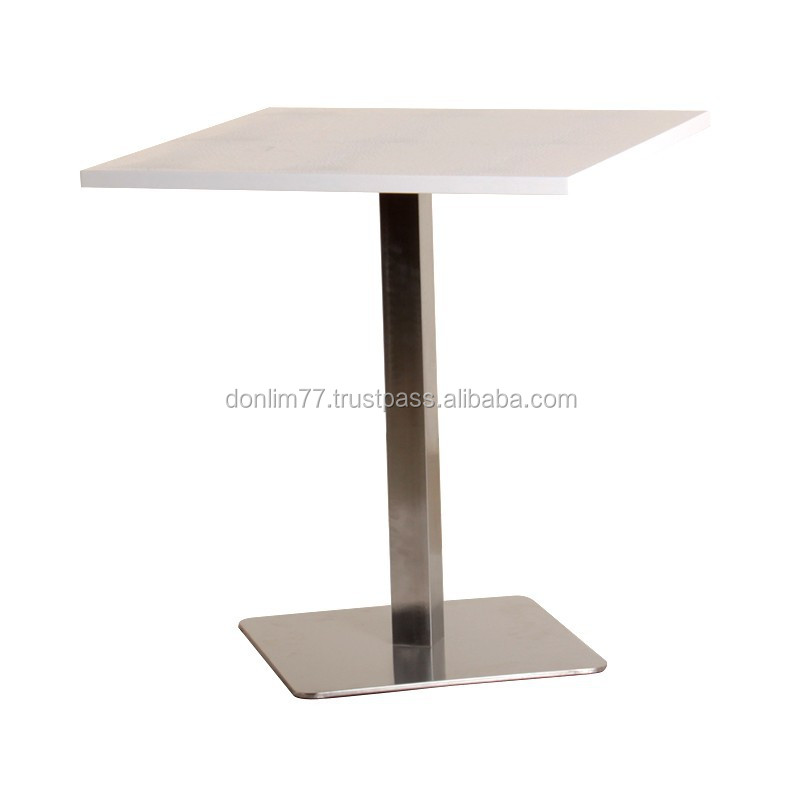 X 4003 Crocodile Grain coffee table stainless steel tables