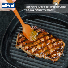 Heat Resistant Silicone BBQ Grill Sauce Cooking Basting Pastry Brush,Hygienic Oil Silicone Pastry Brush