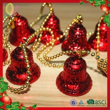 2015 Best sale artificial christmas door hanging bell decorations