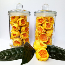 China factory supply rose tea, flower blooming golden camellia tea