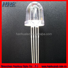 5mm bullet shaped white led light cheap with 20-30 degree beam angle