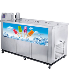 Professional Commercial Snack Pop Ice Lolly Popsicle Stick Machine/ Single Mold Popsicle Making