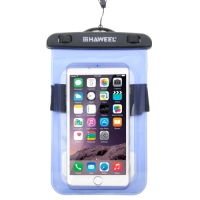 HAWEEL Transparent Universal Waterproof Bag with Lanyard for iPhone 6 & 6 Plus / 6S & 6S Plus, Samsung Galaxy S6 / S5 / Note 5