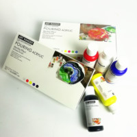 pouring acrylic paint 100ml /liquid Acrylic for painting DIY