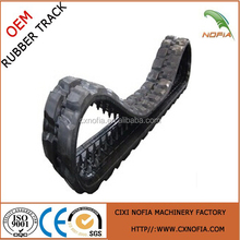 450*86*59 Construction Machinery Parts rubber track For Engineering Vehicles