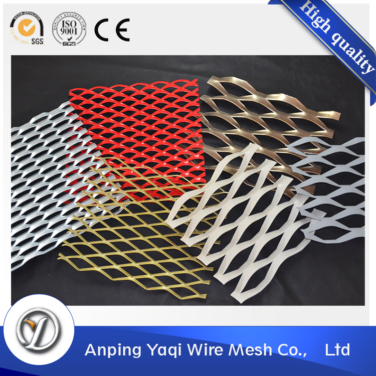 used for gates/cages stainless steel expanded metal mesh