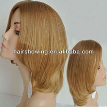 Manufactural European remy hair jewish/ kosher mono top human hair wig