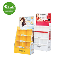 Advertising Shampoo Display Stand, Cardboard Display for Shampoo, Toothbrush Display