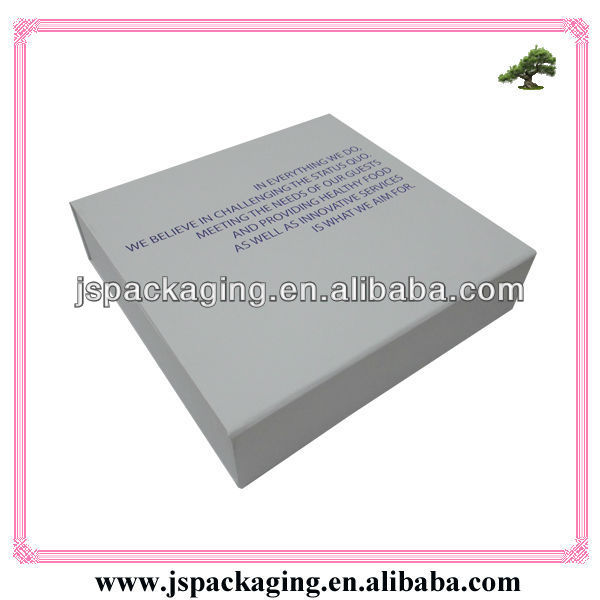 Rectangle White Paper Box