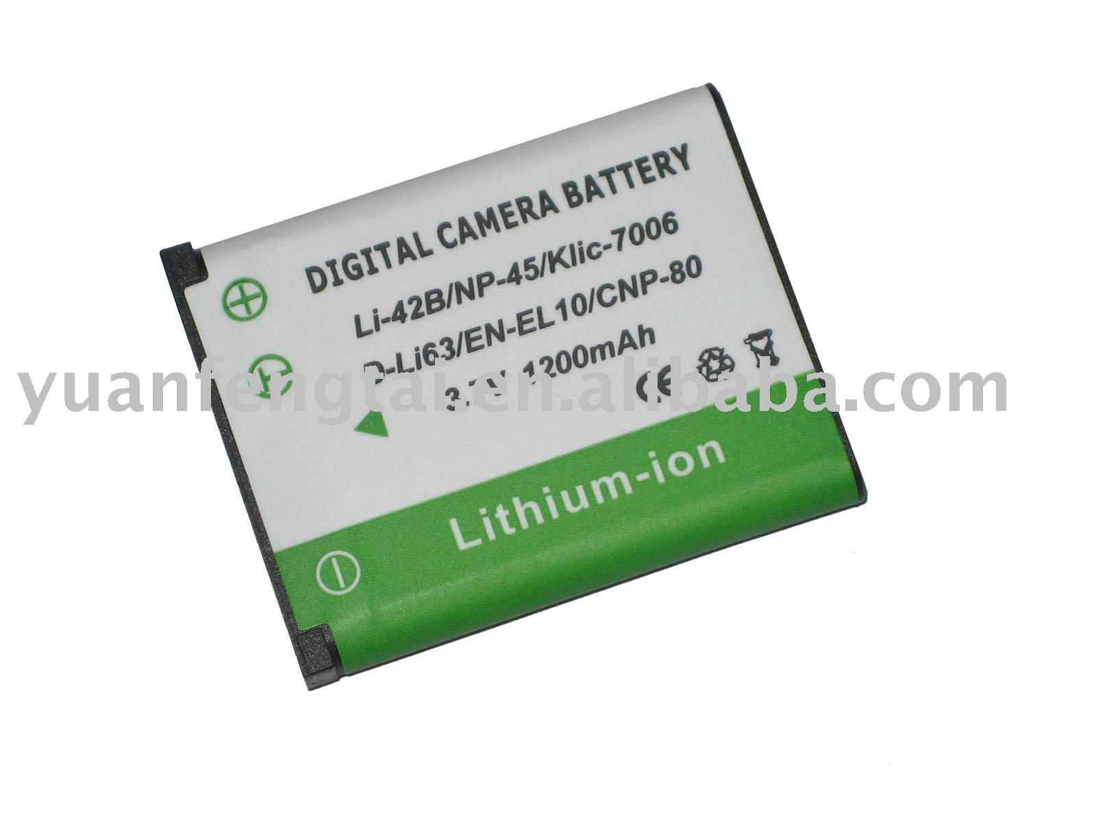 Digital Camera Battery for Pentax D-Li63