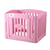 Pet playpen portable pet dog play fence plastic play yard cat rabbit puppy exercise pen fashion design