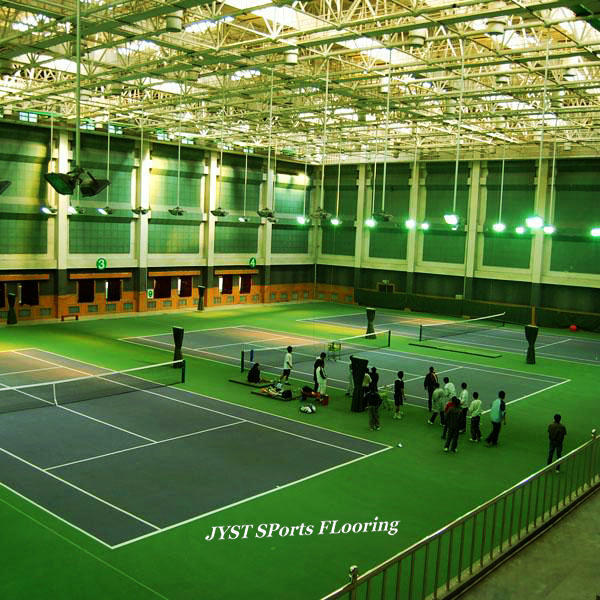 Pvc/synthetic tennis court flooring/badminton court mat