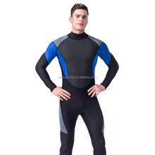 High quality stretch waterproof neoprene fabric diving suit plus size triathlon wetsuit