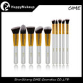 professional pincel maquiagem 10 pcs synthetic hair cosmetic brush set