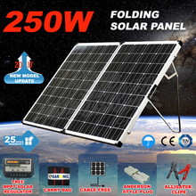 12V Monocrystalline Silicon Folding Solar Panel 500W For Camping
