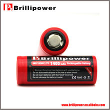 Brillipower li-ion battery 3.6v 1400mah competitive price li-ion battery 3.6v 1400mah