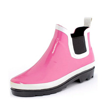pink ankle wellies pink for women wellies rubber boots