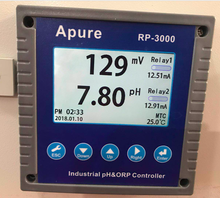 APURE swimming pool water ph and orp tester digital meter controller