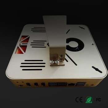 Fanless G3900 Quad Core 2.8G NANO PC Supporting DC 12V (G4400 Dual Core 3.3G option)