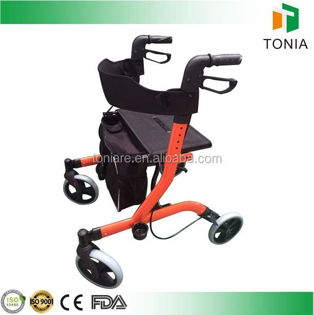 Popular mobility walker rollator walking aids for disabled
