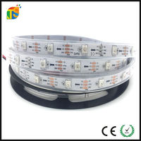 WS2812 rgb led strip 5050 used bar tables and chairs