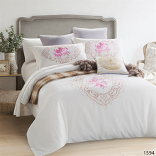 KOSMOS new design home used bed linen high quality cotton bed comforter set