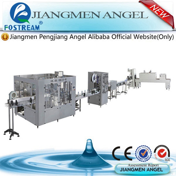 High quality complete aerated water filling machine