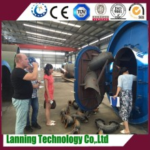 Automatic advanced technology high profits 20T/D scrap tyre pyrolysis plant for fuel oil