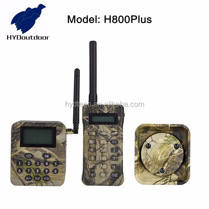 Manufacturer electronic predator call with remote timer extra speaker camo color h800plus