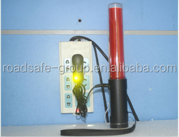 Safety Traffic Signal flashing led rechargeable police traffic baton