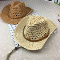 promotion product Paper Braid Straw Cowboy Hat